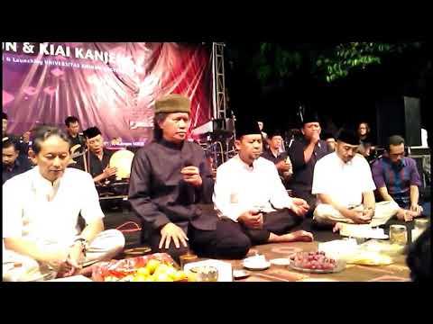 Cak Nun & Kyai Kanjeng - Alfa Salam, Ya Thoybah, Sidnan Nabi (Akhir Acara)
