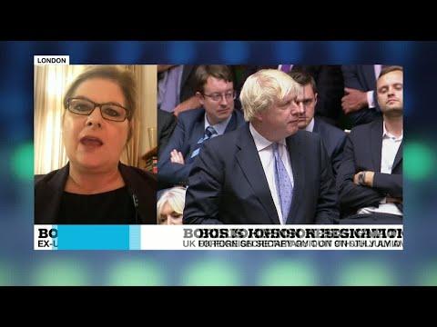 Boris Johnson criticises May, Brexit plan in resignation speech
