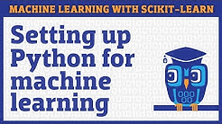 Setting up Python for machine learning: scikit-learn and Jupyter Notebook