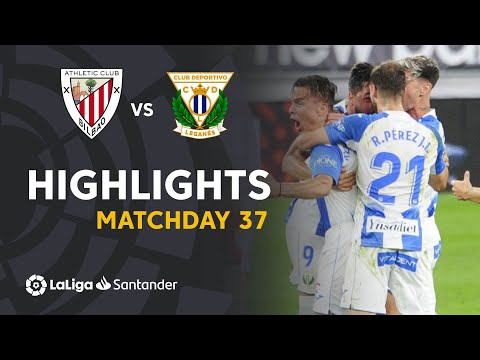 Ath. Bilbao Leganes Goals And Highlights
