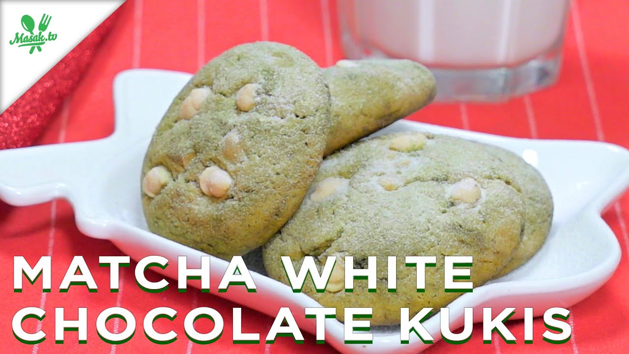 Resep Matcha White Chocolate Kukis