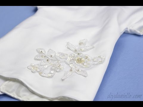 How To Sew Angel Gowns From Wedding Dresses Youtube