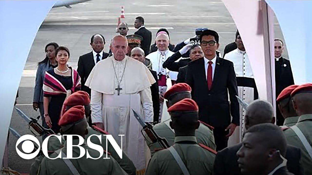 IMG POPE FRANCIS Visits Madagascar