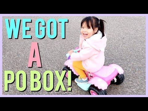 WE GOT A PO BOX!