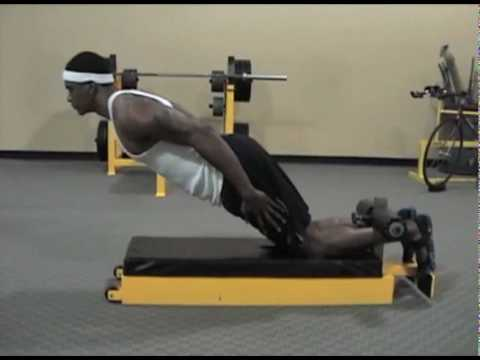 natural glute ham raise ghr - YouTube