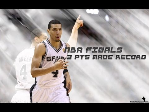 "Danny Green. In Action ""To Remember"" 3pts HISTORIC Record NBA Finals [HD]"