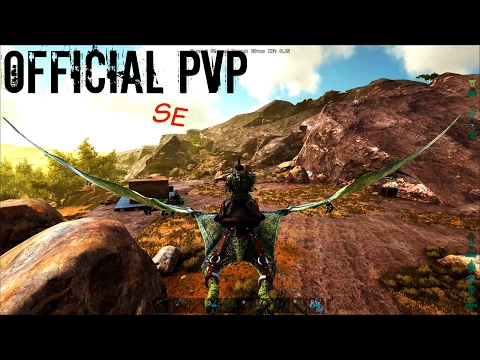 THORNY DRAGON TAME w/ Base Building and More - Official PVP SE (E61) - ARK Survival