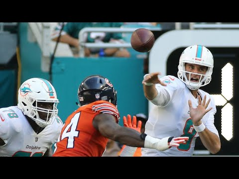 Miami Dolphins QB Brock Osweiler says victory over the Chicago Bears felt like 'heavyweight fight'.