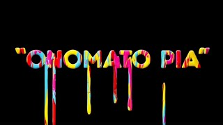 Sparks - Onomato Pia (Official Lyric Video)