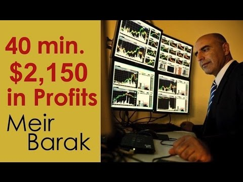 Make money day trading stocks – $2,150 in 40 min. – Meir Barak
