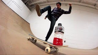 CRAZY SKATEPARK BOTTLE FLIPPING!