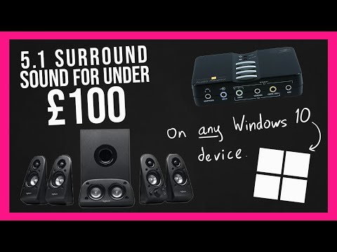 5.1 Surround Sound On Any Windows 10 For Under £100