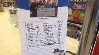 Recent 2014 Albertsons Monopoly Winners!