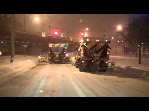 NYSDOT snowplows