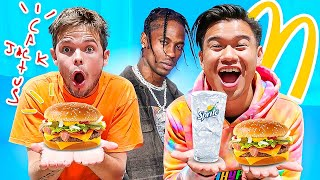 How MOOCHIE JOINED 2HYPE Q&A | Travis Scott McDonalds Meal Mukbang!