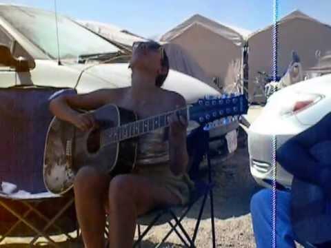 Burning Man Music festival -Gimme the Power