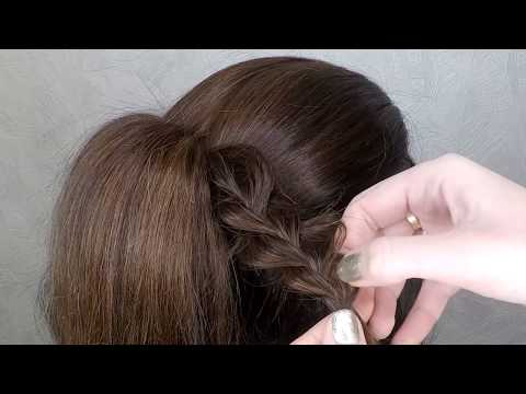 Cute hairstyle for long hair ❤ holiday hairstyle thumbnail