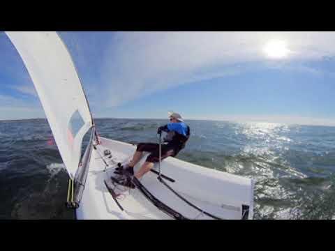 2020 RS Aero Atlantic Coast Championship - Race 8 - 360 video