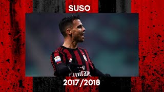 SUSO - skill, goals, assist, dribbling. SEASON 2017/2018