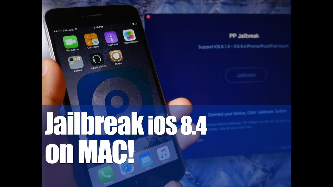 How to jailbreak iOS 8.4 on Mac OS X (PP Jailbreak) - YouTube