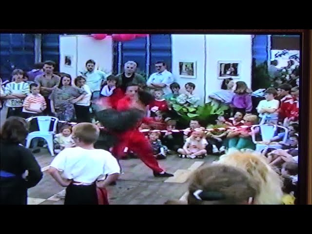 GM Walter Toch with one off the many demo in Chinese Martial Arts Live !