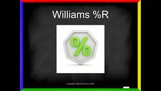 Technical Analysis - Williams %R