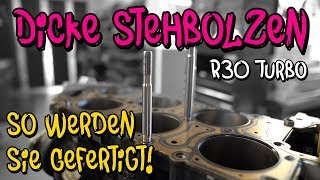 Dickere Zylinderkopf Stehbolzen für den R30 Turbo! -