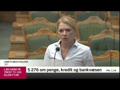 Debat i Folketinget om pengeskabelse