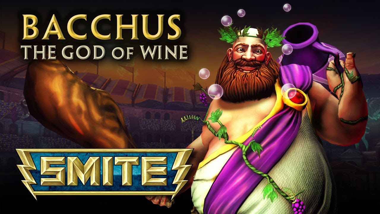 Bacchus God Of Wine Smite