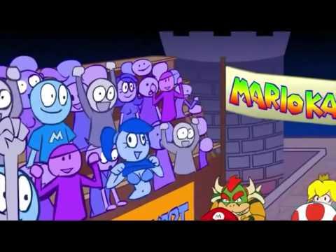 Vídeo reacción Mario kart