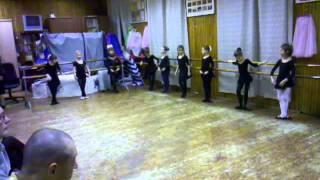 Аленка, хореография, 2012г Открытый урок