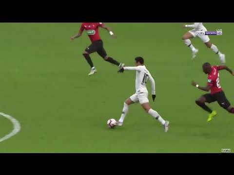 Neymar Insane Goal vs. Rennes | France Cup Final
