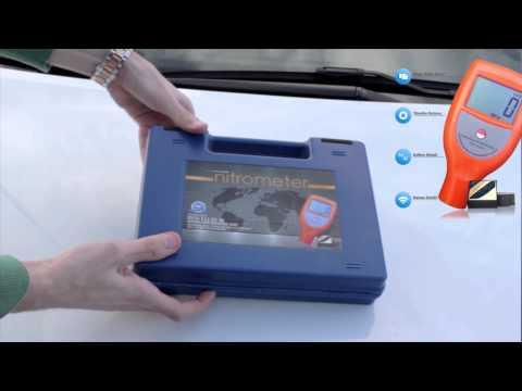 Nitrometer Boya Kalınlık Ölçüm Cihazı 0532 111 01 02 (pbx)