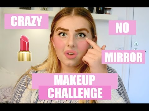 CRAZY makeup challenge!! |Johanna Lind