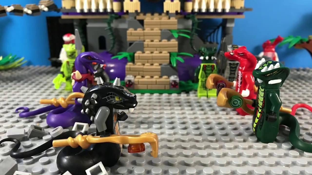 Lego ninjago serpentine meeting 30fps test youtube - Serpent lego ninjago ...