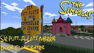 Minecraft Springfield S04: Sir Putt-A-Lot's Merrie Olde Fun Centre!