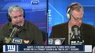 Don La Greca rants about New York Giants' futility