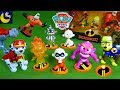 Paw Patrol Toys Babysit Jack Jack Incredibles 2 Figures Mr Incredible Frozone Wrong Toys Story Video