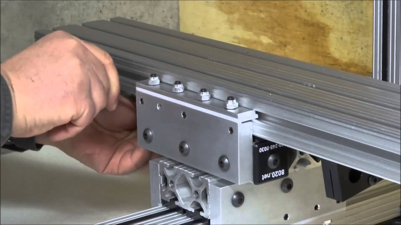 Install Linear Bearings Youtube