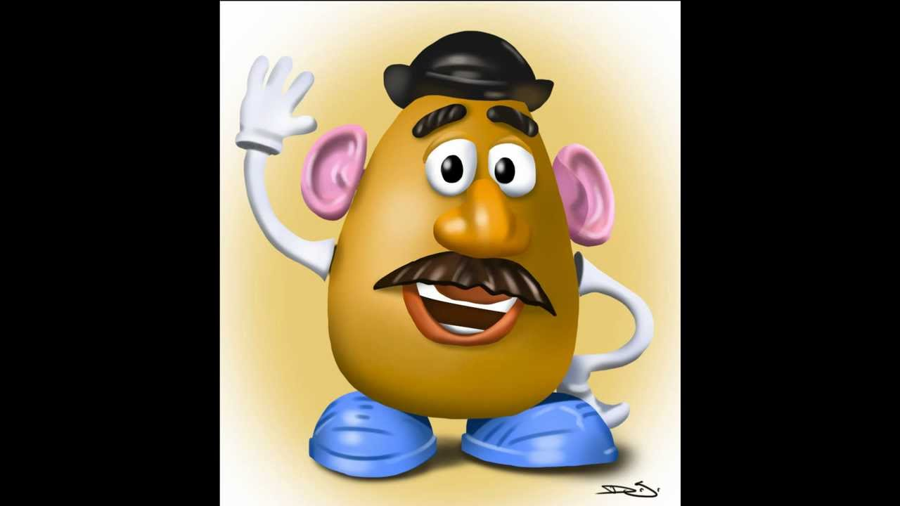 Mr Potato Head A Timelapse Drawing In Photoshop Youtube