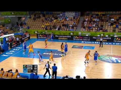 Εθνική Ανδρών | Video : Highlights του αγώνα Ελλάδα - Σουηδία 79-51.