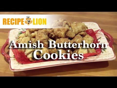 Amish Butterhorn Cookies