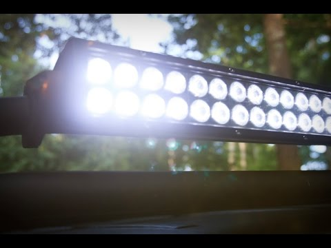 Bright Ass Wurton Led Light Bar For The Zombie Jeep Youtube