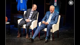 """Los Angeles Clippers """"The Playbook"""" Event: Jerry West, Steve Ballmer, Lawrence Frank"""