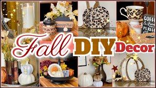 DOLLAR TREE FALL DIY DECOR // FALL 2020 // STYLE MY SWEETS