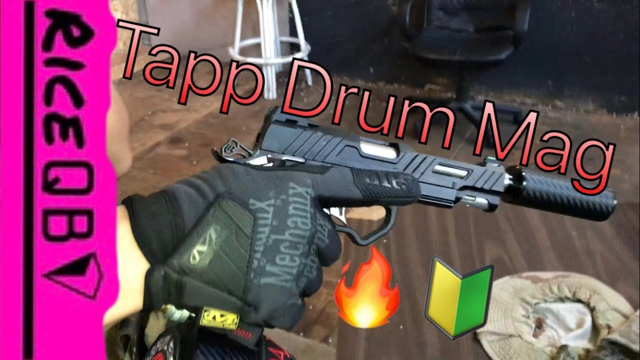 Keeper Talk: Tapp Airsoft Drum Mag Review by NepaAirsoft