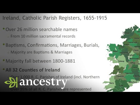 Understanding The Irish Catholic Parish Registers (Live From BTOP 2016) | Ancestry