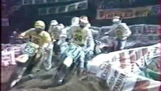 Supercross de Paris Bercy 1983