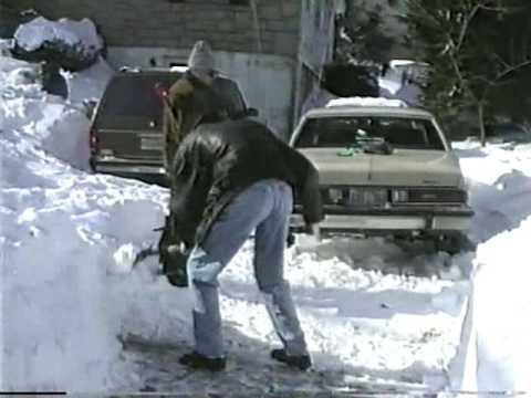 The Blizzard of January 1996, Yonkers NY
