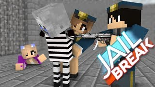 Monster School : JAILBREAK CHALLENGE - Minecraft Animation